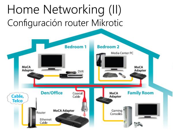 Home Networking (II) – Configuración del router MikroTik